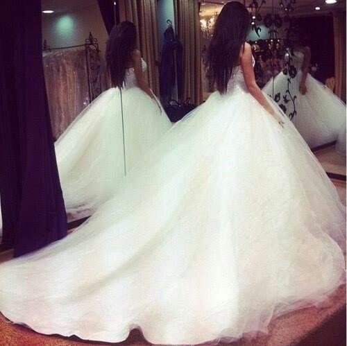Huge ballgown