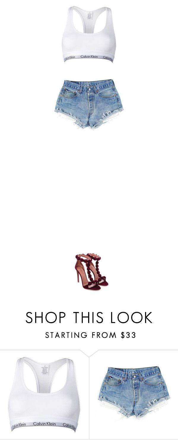 """""""oděvní návrhářství"""" by jmeno ❤ liked on Polyvore featuring Calvin Klein"""