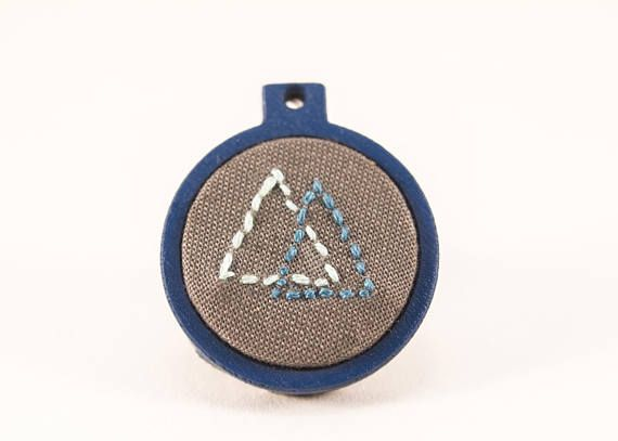 Hey, I found this really awesome Etsy listing at https://www.etsy.com/au/listing/532815688/mini-embroidery-hoop-art-blue-with