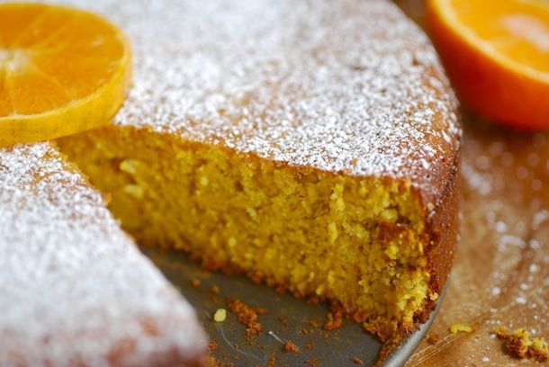 Chef Silvena Rowe's Orange and almond cake (gluten and fat free).