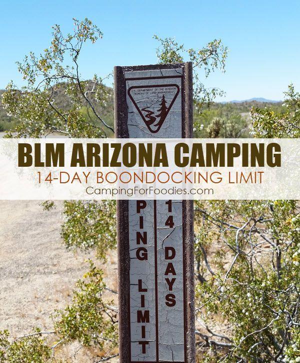 BLM Arizona Camping VIDEO Near Wickenburg AZ Free ...