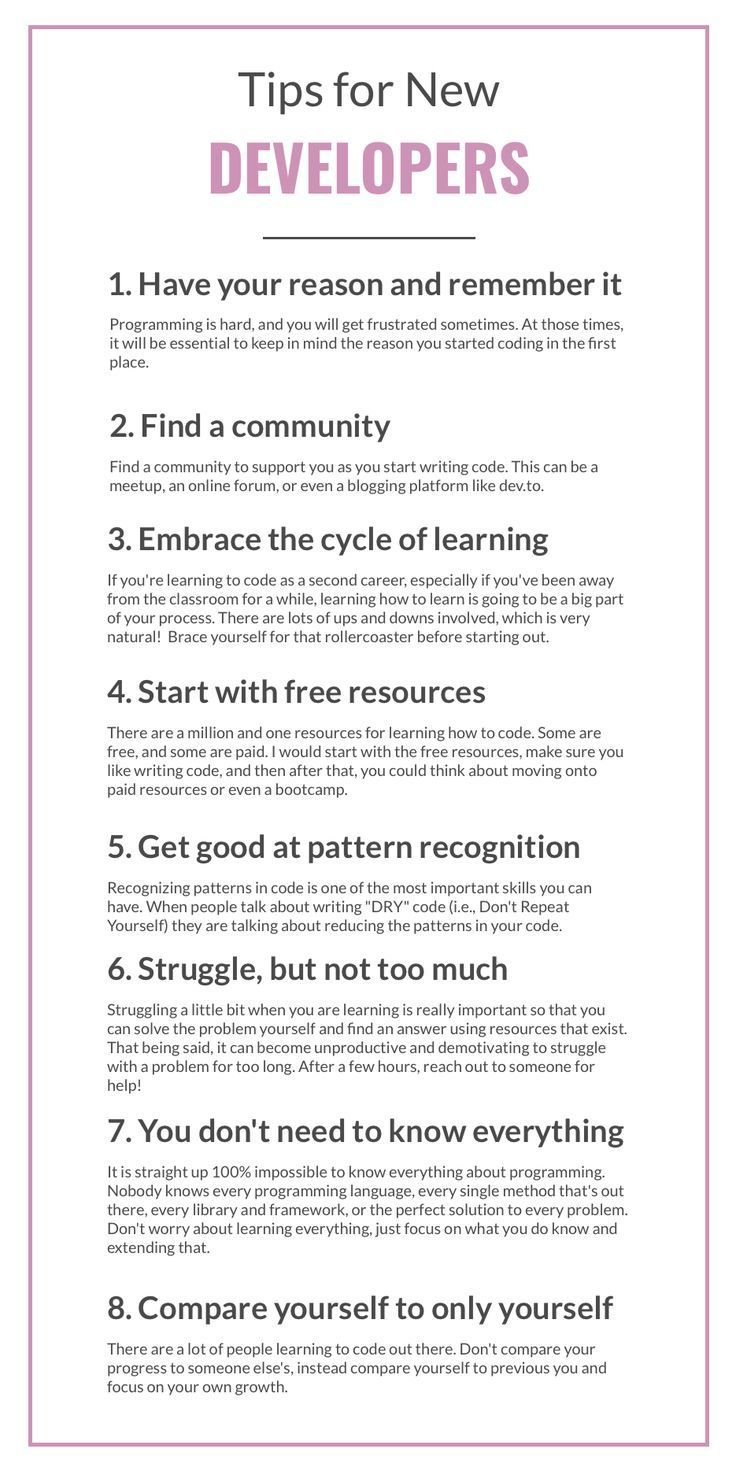 So You Want To Start Learning How To Code Here Are Some Tips From A Software Engineer Software Engineer Software Development Life Cycle Software Development