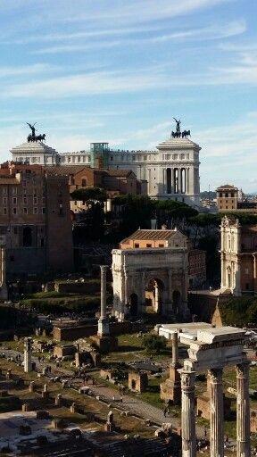 11.10.2015 Forum Romanum, Rome, Italy