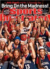 Kelly Olynyk Gonzaga Bulldogs Sports Illustrated Cover - www.sicovers.com