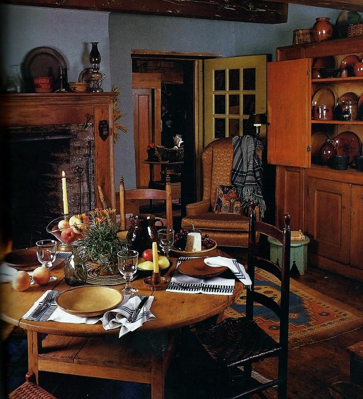 Colonial Primitive Decorating Ideas: 153 Best Images About Colonial/Primitive Interiors On