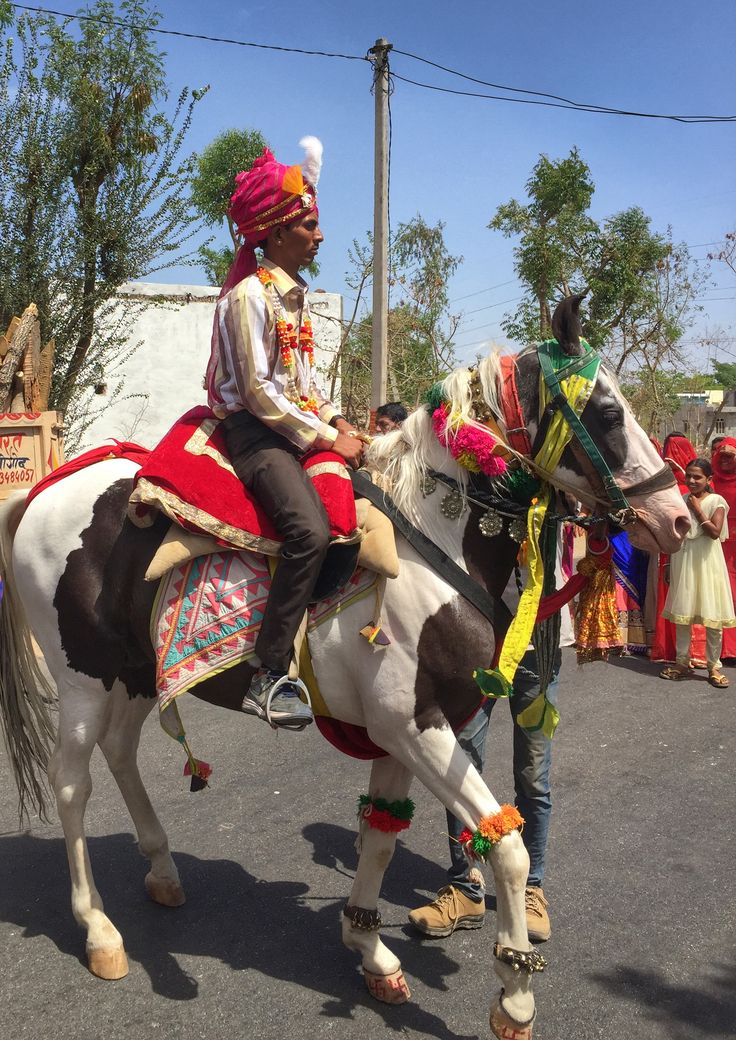 Wedding procession in rural #Rajasthan. Want to visit #IncredibelIndia?  www.finisterra.ca