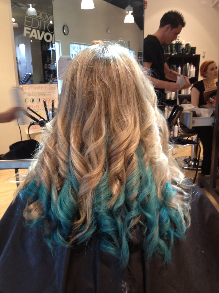 72 best hair images on pinterest hair braids and hairstyles highlight lowlight with a teal block color on the bottom pmusecretfo Image collections