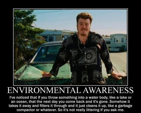 Ricky on Environmental Awareness