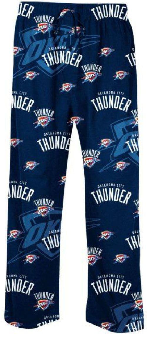 Oklahoma City Thunder Navy Keynote NBA Mens Pajama Pants by Concepts Sports $31.95