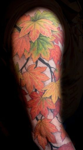 39 best images about andrea ottlewski on pinterest for Fall tree tattoo