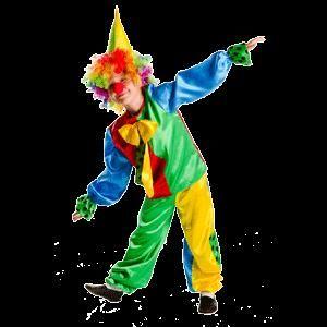Фото новогоднего детского костюма клоуна