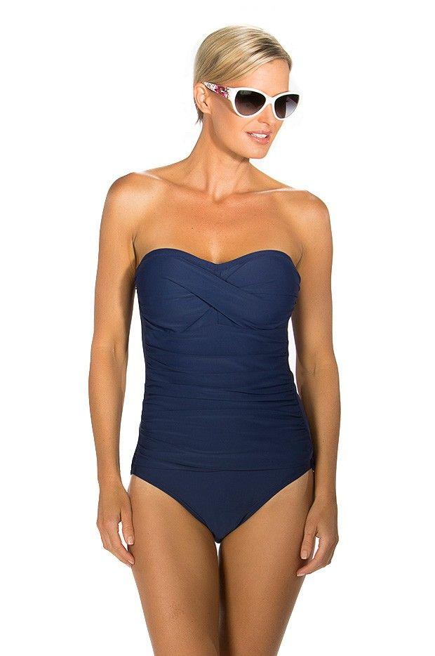 Togs Swimwear Twist Bandeau