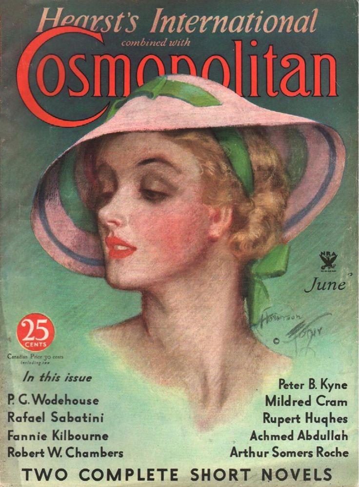 Cosmopolitan (June 1934) by Harrison Fisher