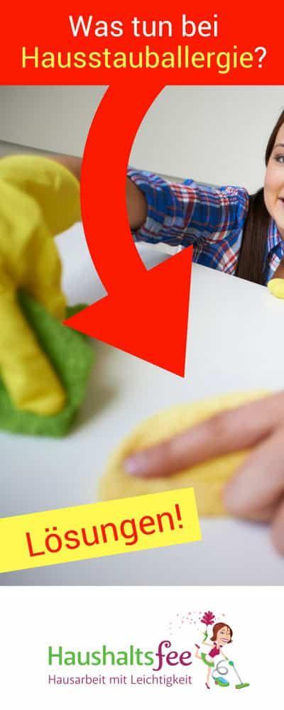 Hilfe, Milben! Was tun bei Hausstauballergie? | Haushaltsfee.org