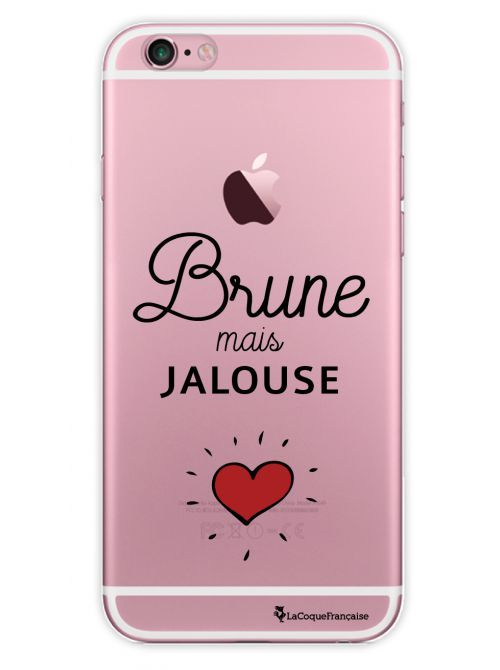 Coque transparente Brune mais jalouse pour iPhone 6 / 6S