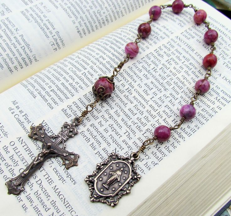 Chaplets One Decade Rosary Tenners - Handmade Rosary beads by Graceful Rosaries Catholic rosaries