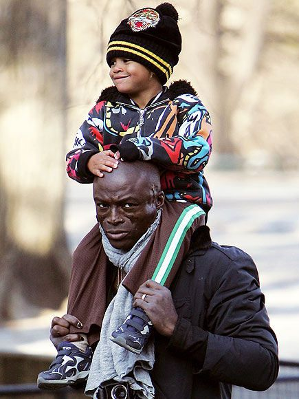 Why is Seal's face scarred? • Born Seal Henry Olusegun ...