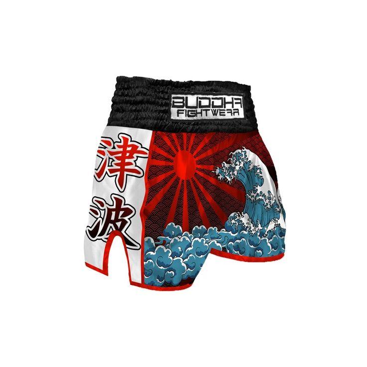 Muay Thai Shorts Buddha RetroTsunami > muay thai shorts