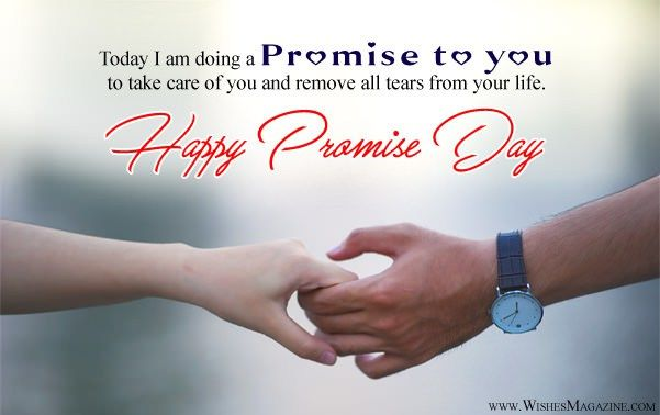 Happy Promise Day Wishes Messages For Girlfriend Boyfriend