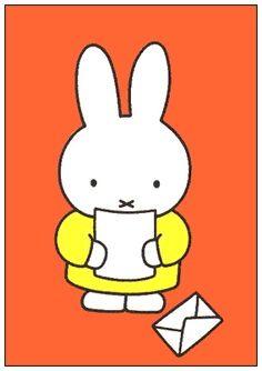 Miffy's got mail.
