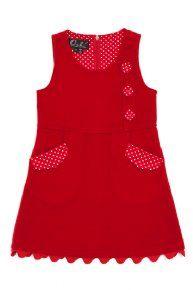 Oobi - Luella Dress - Scarlet gorgeous