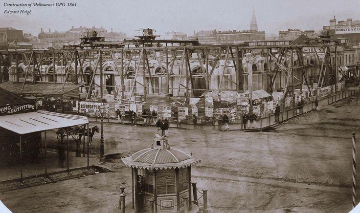 GENERAL POST OFFICE 1861 Crn. Elizabeth Street & Bourke Street - Melbourne