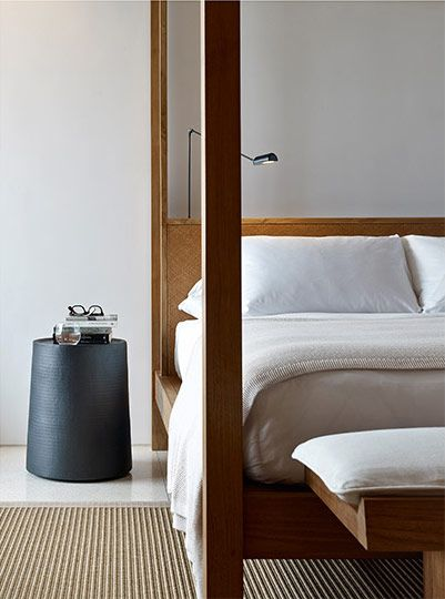 Bedrooms at Arnalaya Beach House.