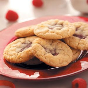 Raspberry Coconut Cookies, these taste just like the Voortman turnover cookie...well, actually they're even better!!