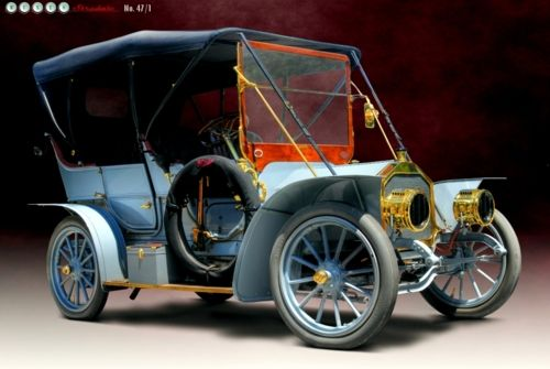 Pullman Model H Light Touring Car, 1908…