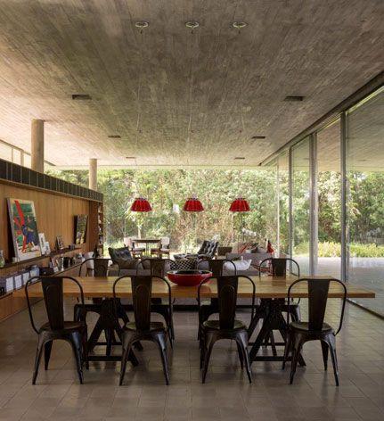 CASA REDUX - BRASIL by MARCIO KOGAN   DINING   Pinterest   House, Studio and Architecture