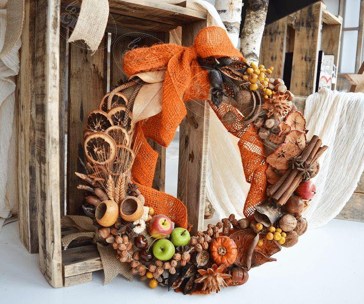 So nice autumn wreath!