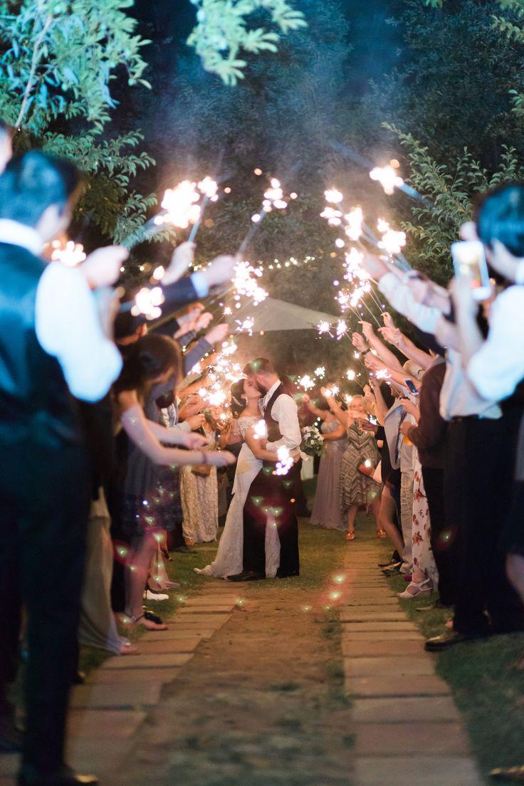 Enchanted Rock Creek Garden Wedding M+A