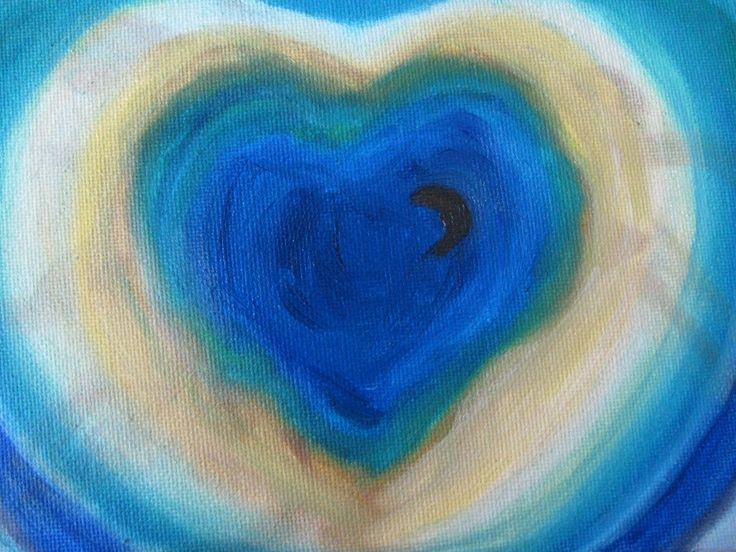 What's in the Heart, oilpainting by JacquelinePopArts - Art with a Heart - Valentijn - Valentines Day