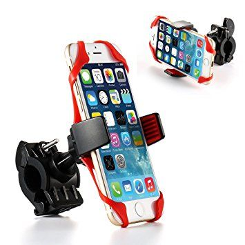 Bicycle Cell Phone Mount Holder for Motorcycle / Bike Handlebars