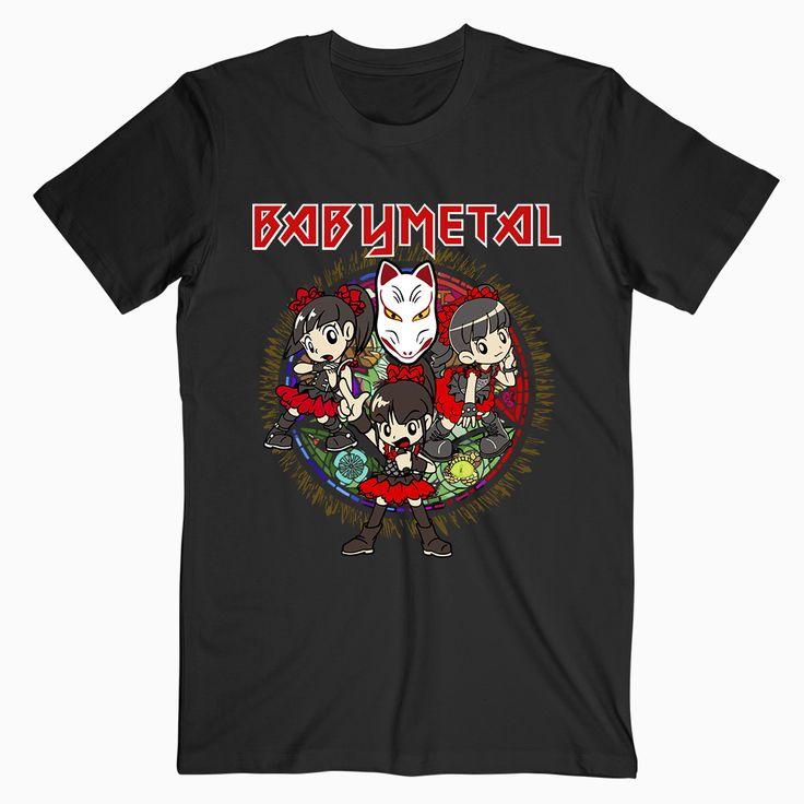Babymetal Tour T-shirt  #babymetal #babymetaltshirt