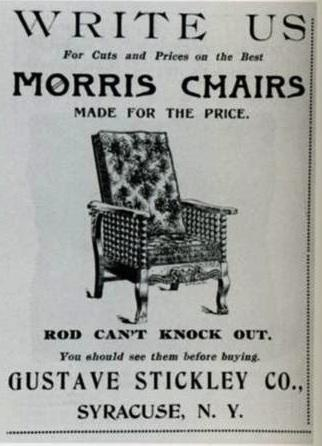 The Stickley Morris Chairs