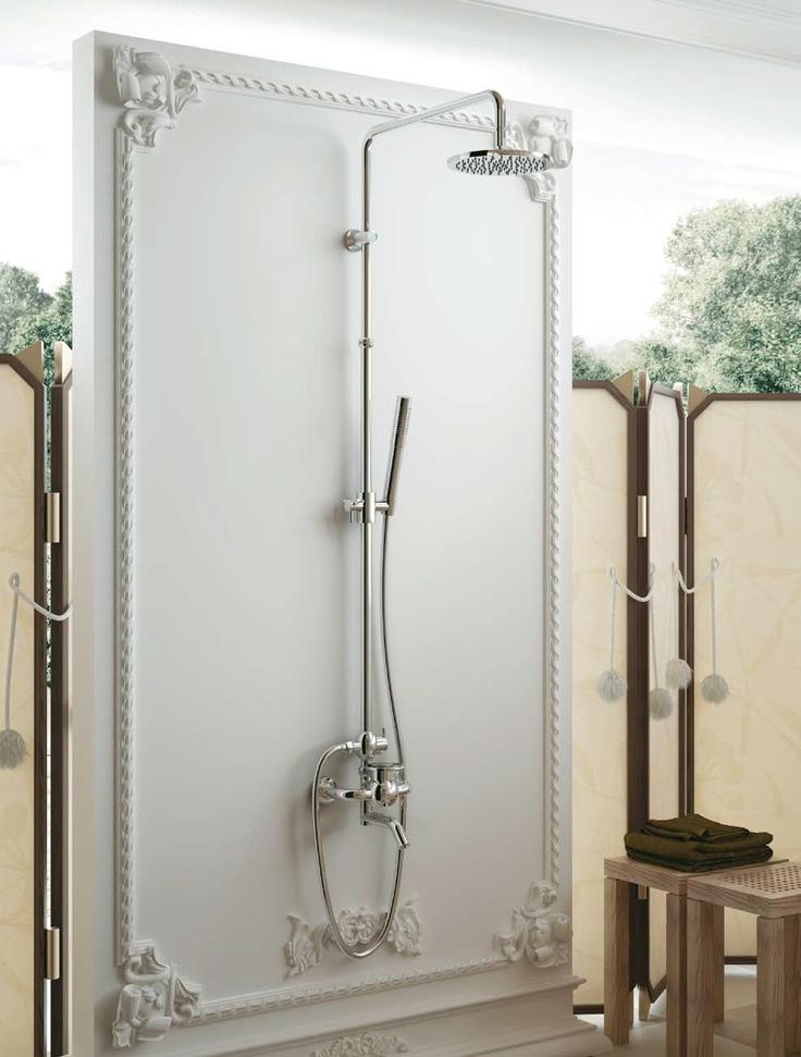 Luxusní masivní sprchy, Klasické sprchy, retro sprchy, sprchy chrom, sprchy bronz