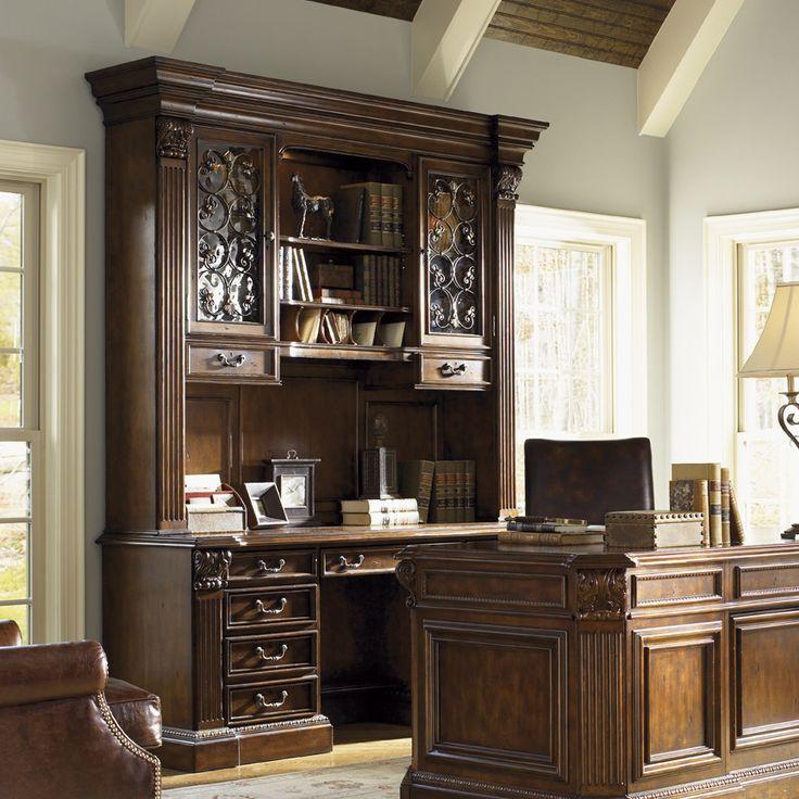 Laredo Credenza Desk with Hutch 17 best