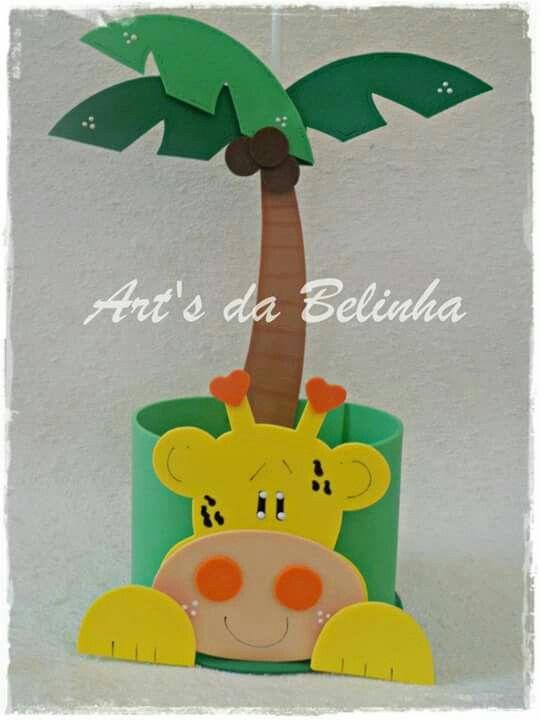 Jirafa palmera
