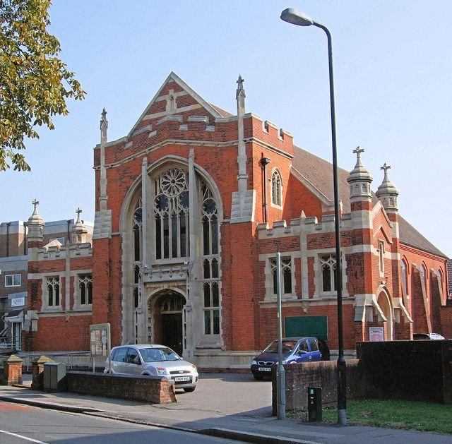 Hanwell Methodist Church, London.