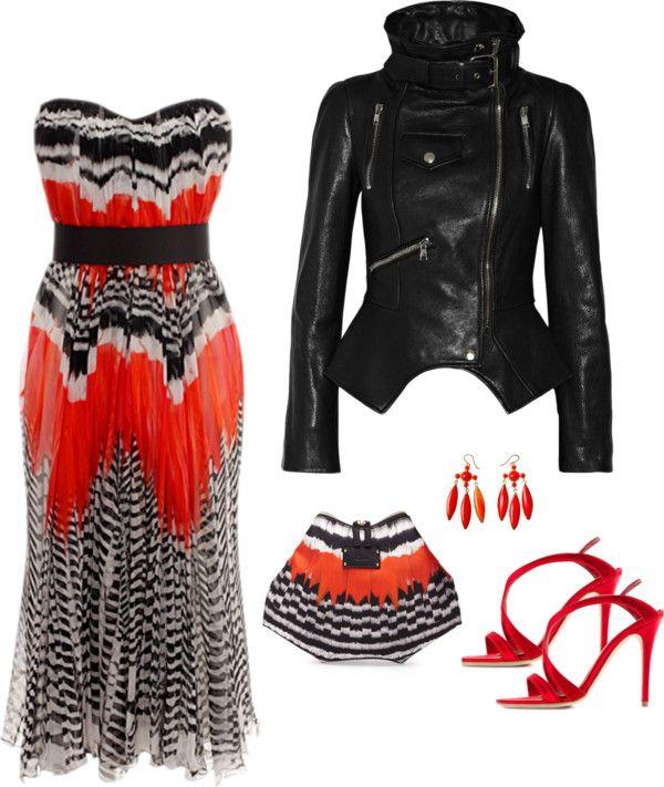 McQueen  Women's Clothes 2014 Spring/Summer Look 10