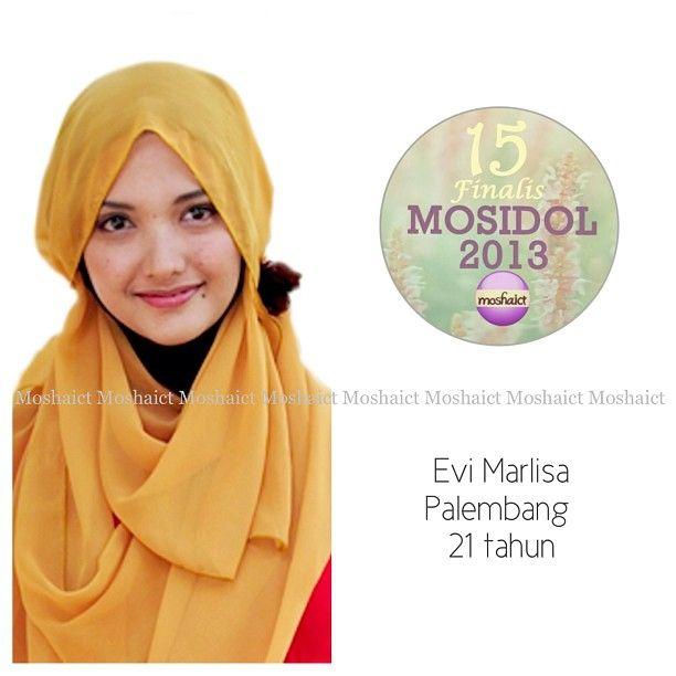 Evi Marlisa : 15 besar MosIdol 2013 #MosIdol2013 #moshaict #hijab #fashion #fashionhijab #islamicfashion | www.moshaict.com