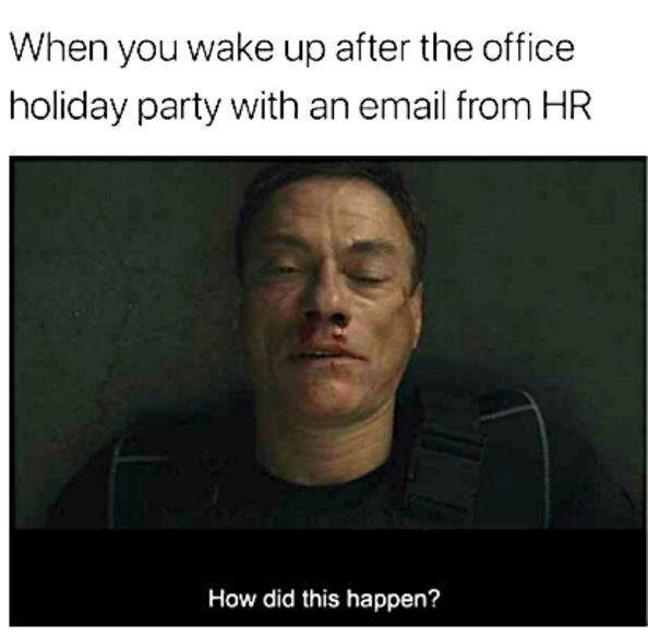 20 Funny Office Christmas Party Memes Funnyfoto Christmas Memes Funny Memes Company Holiday Party