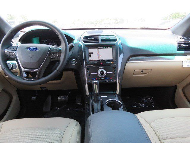 New 2016 Ford Explorer Limited SUV in Temple