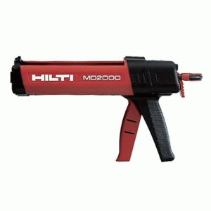 The Hilti MD-2000 epoxy injection gun. No serious bolter should be without one!
