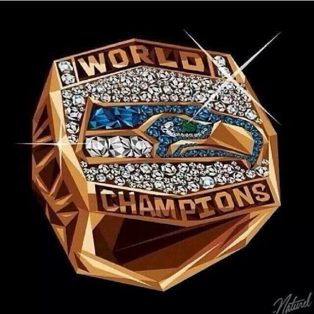 2014 Super Bowl ring
