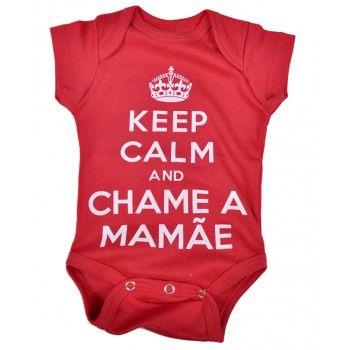 body bebê frase keep calm em suedine nuvem baby & kids. Moda bebê, Moda…