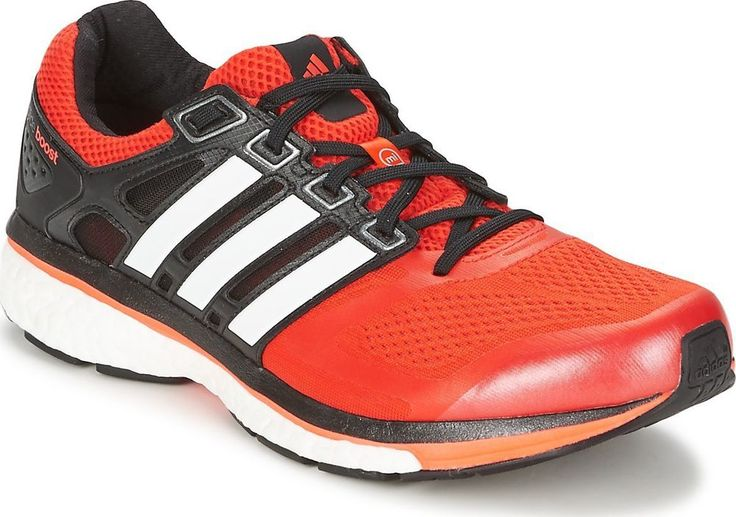 NEW ADIDAS SUPERNOVA GLIDE 6 BOOST Running MENS 9.5 Red ...