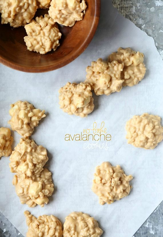 Cookies and Cups No Bake Avalanche Cookies - Cookies and Cups