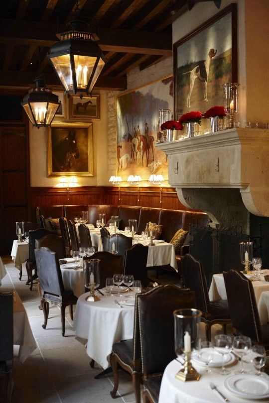 RALPH'S Restaurant • Paris, FRANCE • American Cuisine • Old world interior and gorgeous courtyard, this eatery in the Ralph Lauren Boutique is booked well in advance • 1-44-77-76-00 • http://ralphlaurenstgermain.com/en/#/lerestaurant